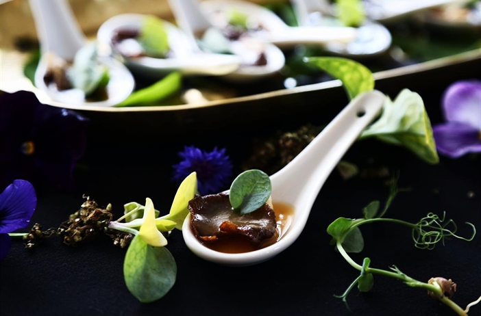 Faux Oyster Canape